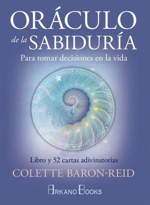 ORACULO DE LA SABIDURIA. PARA TOMAR DECISIONES EN LA VIDA (LIBRO Y CARTAS)