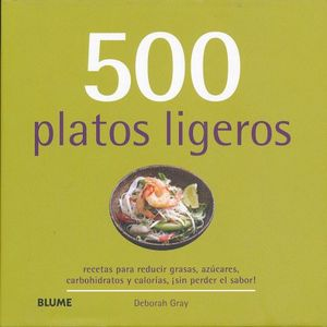 500 PLATILLOS LIGEROS