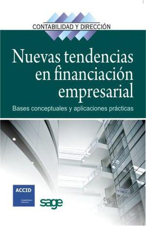 NUEVAS TENDENCIAS EN FINANCIACION EMPRESARIAL