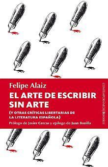 ARTE DE ESCRIBIR SIN ARTE, EL