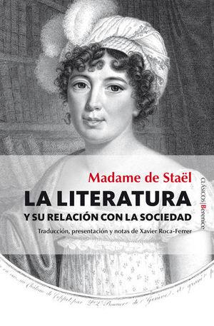 LITERATURA Y SU RELACION CON LA SOCIEDAD, LA