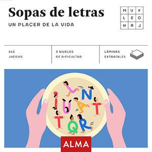 SOPA DE LETRAS. UN PLACER EN LA VIDA
