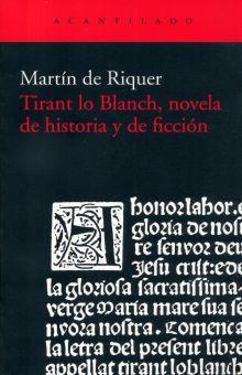 TIRANT LO BLANCH NOVELA DE HISTORIA Y FICCION