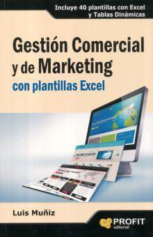 GESTION COMERCIAL Y DE MARKETING CON PLANTILLAS EXCEL