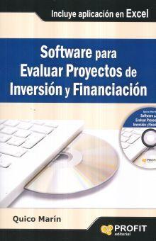 SOFTWARE PARA EVALUAR PROYECTOS DE INVERSION Y FINANCIACION (INCLUYE CD)