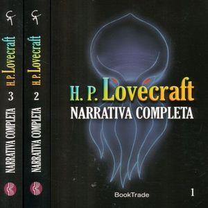 PAQ. H. P. LOVECRAFT NARRATIVA COMPLETA / 3 TOMOS