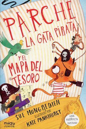 Parche. La gata pirata y el mapa del tesoro