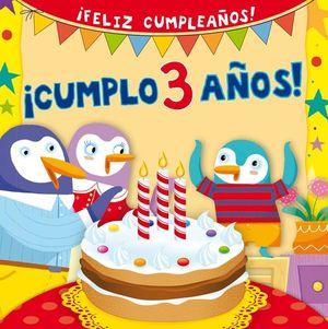 CUMPLO 3 AÑOS / PD.
