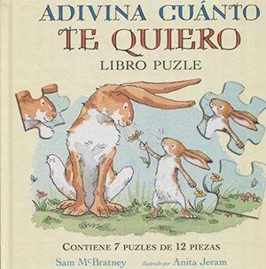 ADIVINA CUANTO TE QUIERO / PD. (7 PUZLES DE 12 PIEZAS)