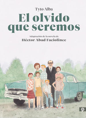 El olvido que seremos (novela gráfica) / pd.