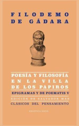 POESIA Y FILOSOFIA EN LA VILLA DE LOS PAPIROS. EPIGRAMAS Y DE POEMATIS 5