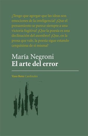 El arte del error / pd.