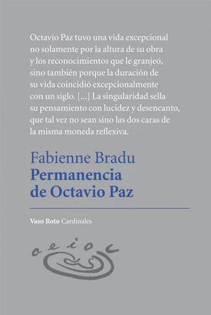 Permanencia de Octavio Paz