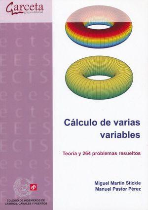 Cálculo de varias variables. Teoría y 264 problemas resueltos