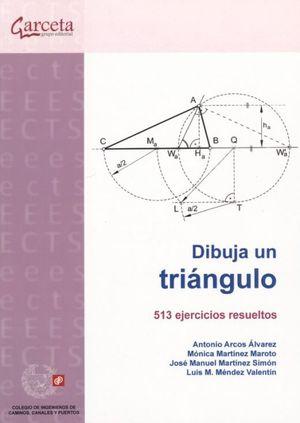Dibuja un triángulo