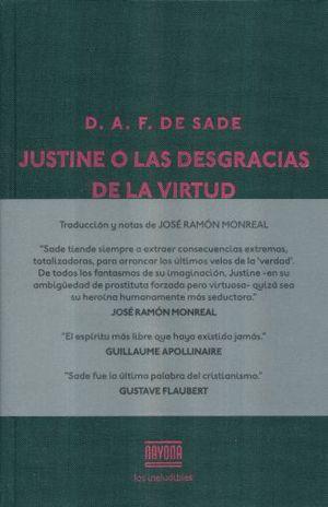 JUSTINE O LAS DESGRACIAS DE LA VIRTUD / PD.