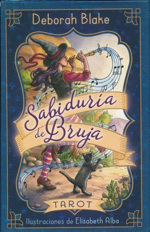 TAROT SABIDURIA DE BRUJAS LIBRO + CARTAS / PD.