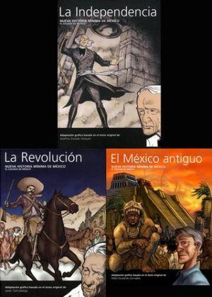 SEGUNDO PAQUETE NUEVA HISTORIA MINIMA DE MEXICO / 3 VOLS. / PD.