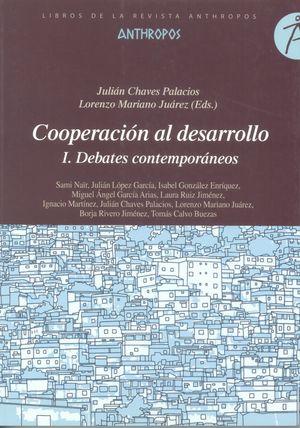 Cooperación al desarrollo I. Debates contemporáneos