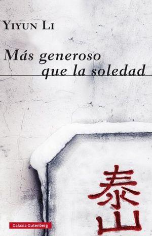 MAS GENEROSO QUE LA SOLEDAD / PD.