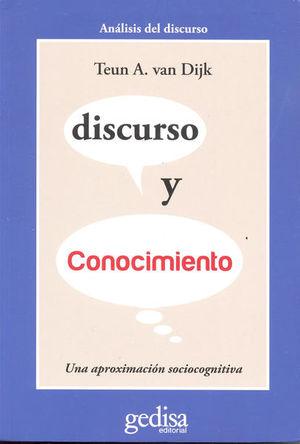 DISCURSO Y CONOCIMIENTO. UNA APROXIMACION SOCIOLINGUISTICA