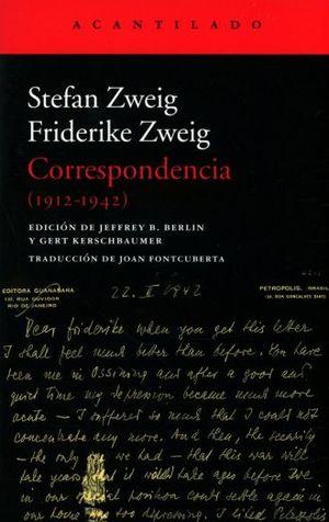 CORRESPONDENCIA. 1912-1942