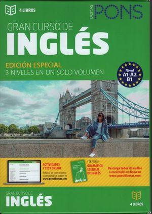 Gran curso de inglés / 4 Tomos