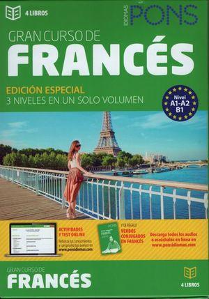 Gran curso de francés / 4 Tomos