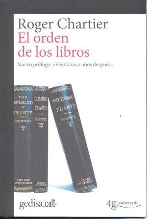 ORDEN DE LOS LIBROS, EL (NUEVO PROLOGO)