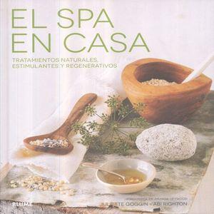 SPA EN CASA. TRATAMIENTOS NATURALES ESTIMULANTES Y REGENERATIVOS / PD.