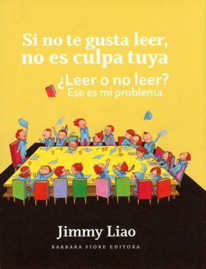 Si no te gusta leer, no es culpa tuya. ¿Leer o no leer? ese es mi problema / pd.