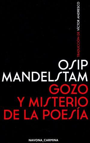 Gozo y misterio de la poesía / pd.