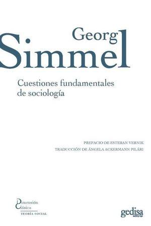 CUESTIONES FUNDAMENTALES DE SOCIOLOGIA / 3 ED.