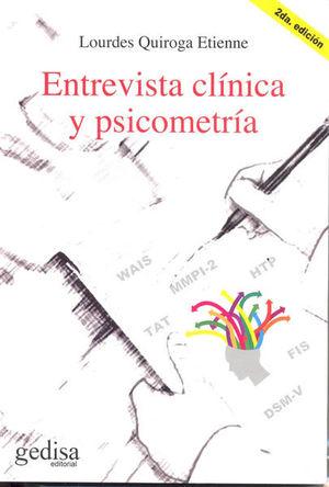 ENTREVISTA CLINICA Y PSICOMETRICA / 2 ED.