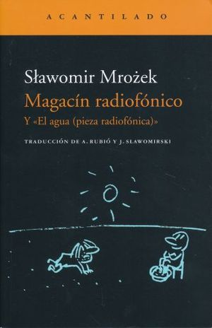 MAGACIN RADIOFONICO Y EL AGUA. PIEZA RADIOFONICA