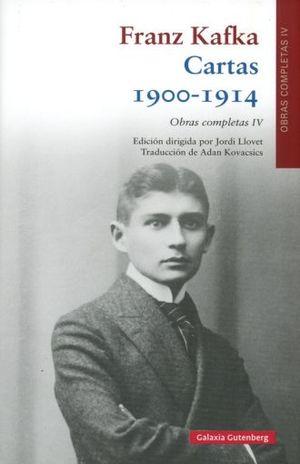 CARTAS 1900 - 1914. OBRAS COMPLETAS IV / PD.