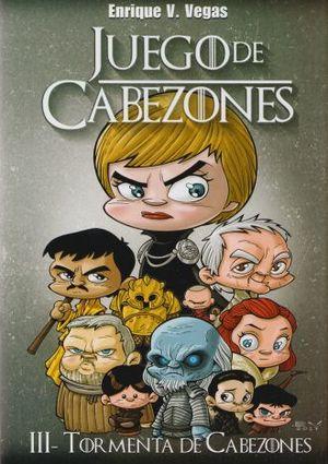JUEGO DE CABEZONES 3. TORMENTA DE CABEZONES / PD.