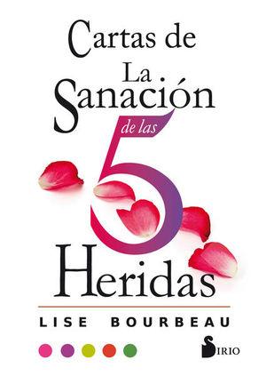 CARTAS DE LA SANACION DE LAS 5 HERIDAS (ESTUCHE)