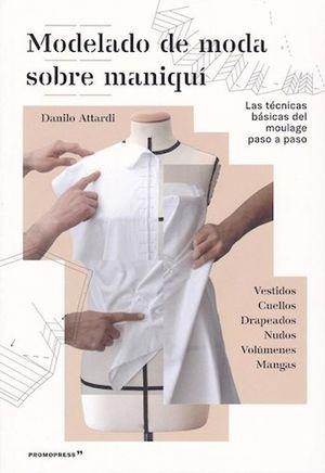 Modelado de moda sobre maniquí
