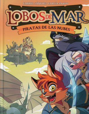 Pirata en las nubes / Lobos de mar / vol. 3 / pd.