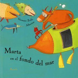 MARTA EN EL FONDO DEL MAR / PD.