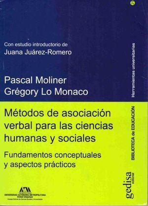 METODOS DE ASOCIACION VERBAL PARA LAS CIENCIAS HUMANAS Y SOCIALES. FUNDAMENTOS CONCEPTUALES Y ASPECTOS PRACTICOS