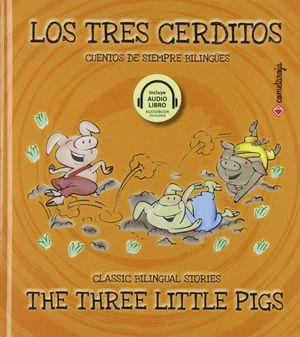 Los tres cerditos / The three little pigs (Edición bilingüe) / pd.