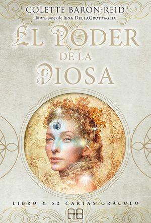 El poder de la diosa (Incluye libro y cartas)