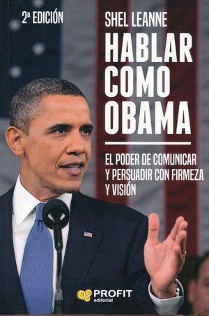 Hablar como Obama / 2 ed.