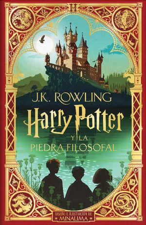 Harry Potter y la piedra filosofal (Ed. Minalima) / pd.