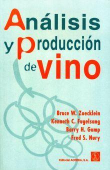 ANALISIS Y PRODUCCION DE VINO