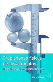 PROPIEDADES FISICAS DE LOS ALIMENTOS