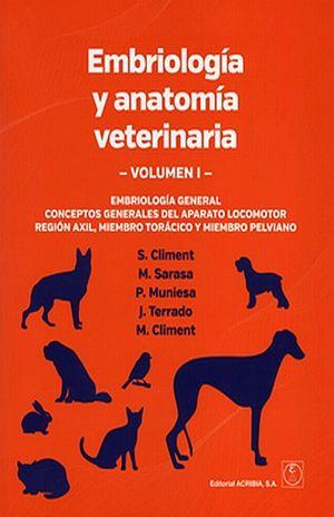 EMBRIOLOGIA Y ANATOMIA VETERINARIA / VOL. I. EMBRIOLOGIA GENERAL