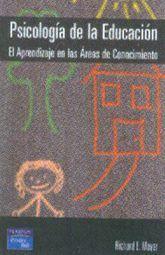 PSICOLOGIA DE LA EDUCACION. EL APRENDIZAJE EN LAS AREAS DE CONOCIMIENTO